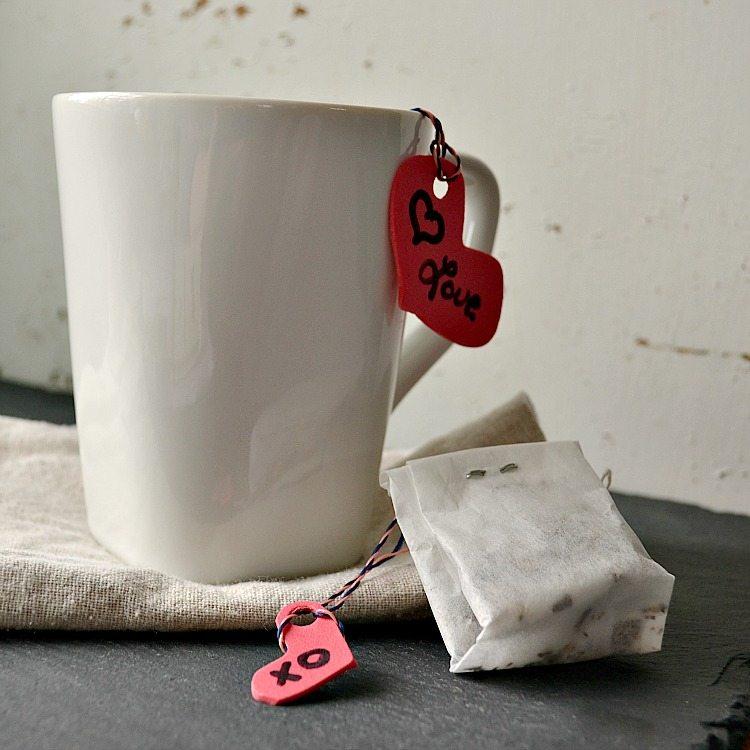 DIY Tea Bags - Edible Crafts