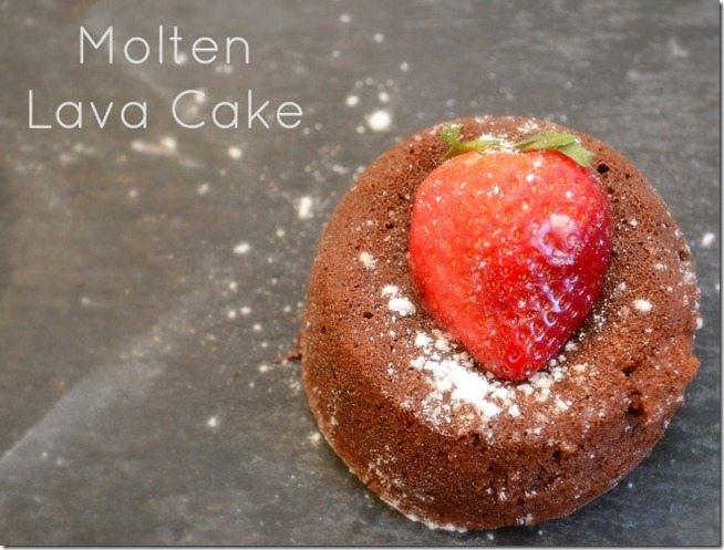 Katie's Molten Lava Cake