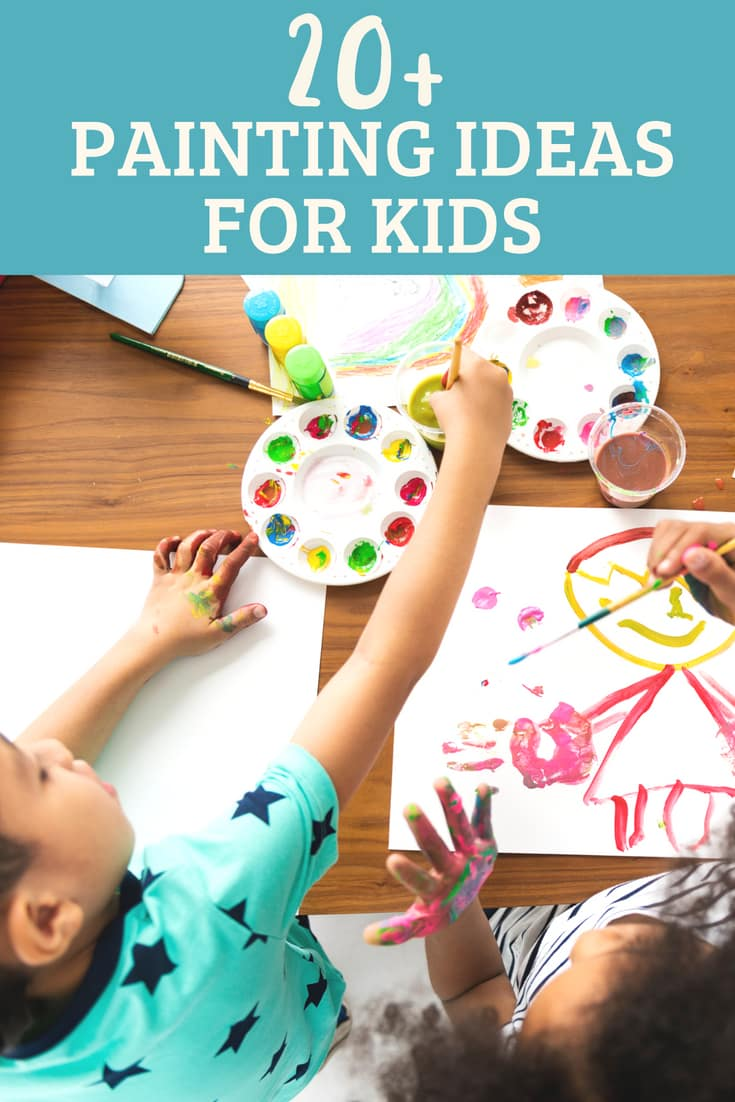 Over 20 Of The Best Painting Crafts For Kids