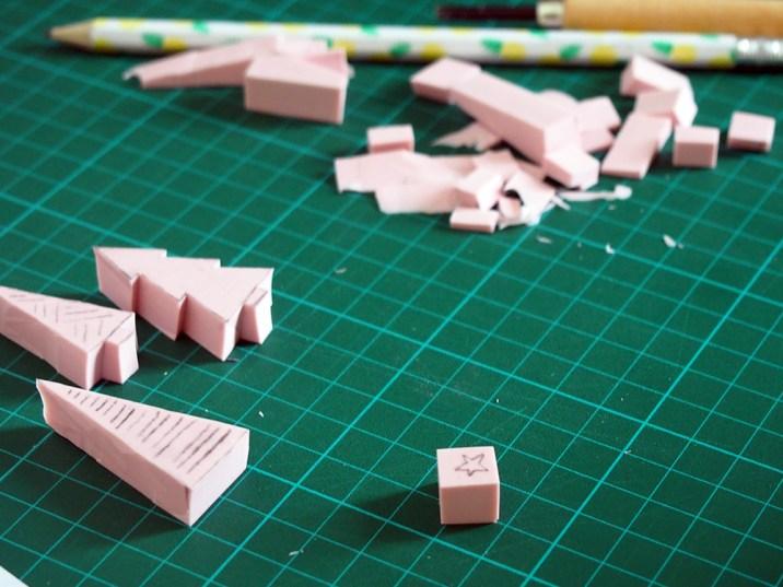 DIY de Noël : des tampons pour décorer ses cadeaux
