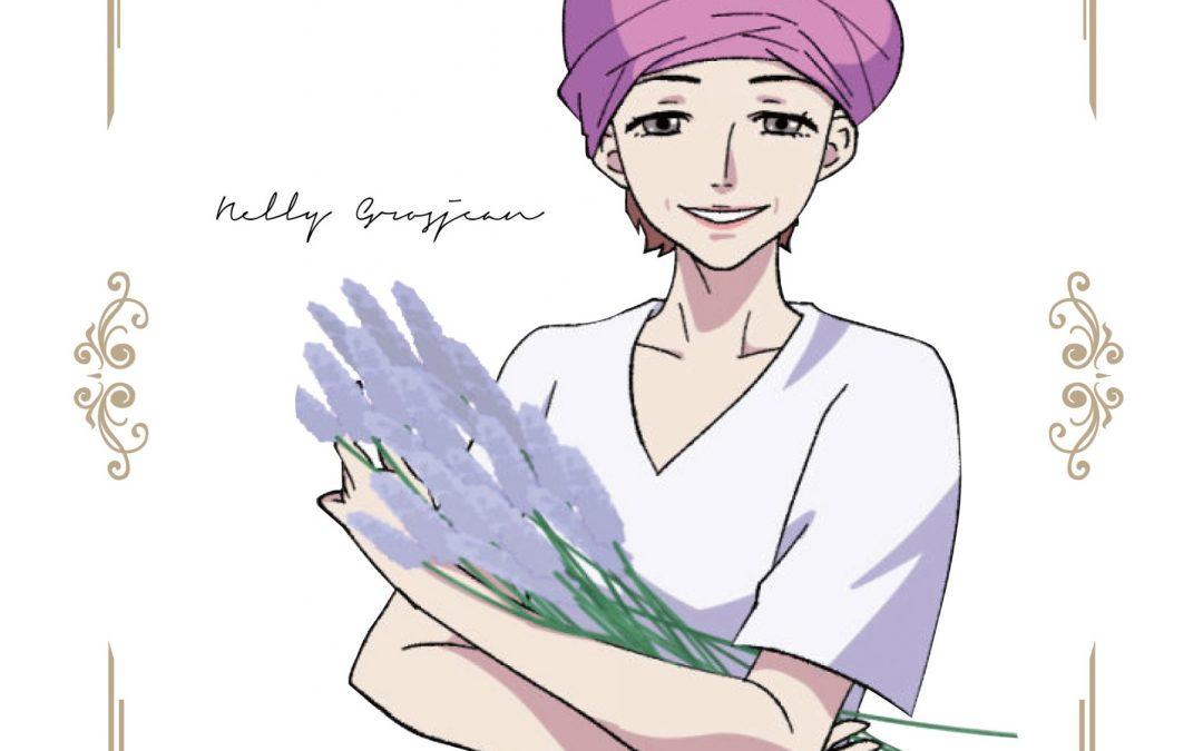 Le personnage de manga japonais de nelly !