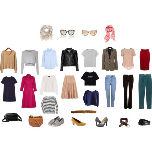 Капсульный гардероб примеры и мой опыт составления