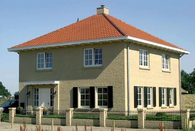 flat roof tile f 13 classic