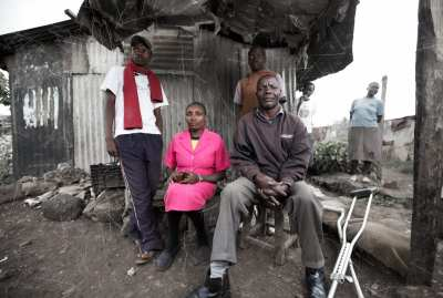 James and Louise – Kikuyo and Luo Neighbors in Kibera Slum, Kenya