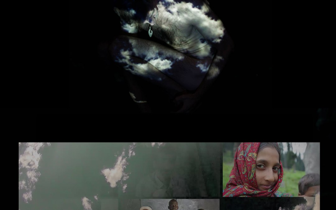 We Are Clouds – Interactive Projection Installation