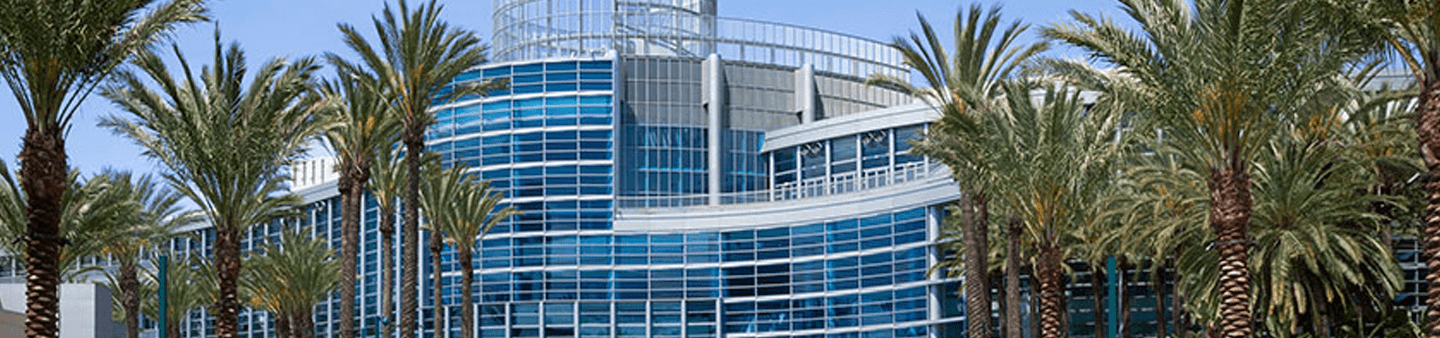 Wide Screen View of Anaheim Conference Center