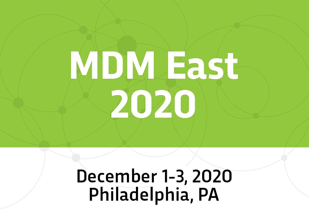 MDM East 2020 – Philadelphia, PA