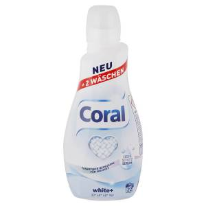 Praci gel Coral Optimal White 22 prani 1,5 L