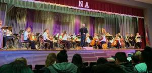 New Albany MS NAES symphony day
