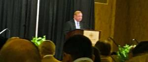 Union County MS Bo Collins of BNA Bank at State of the Region meeting