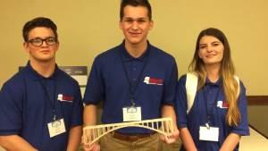 Union County, MS East Union Attendance Center wins at bridge building competition