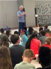 Steven Byess meets with NAES musicians