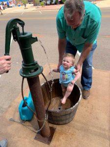 Union County MS Antique hand pump Ecru MS