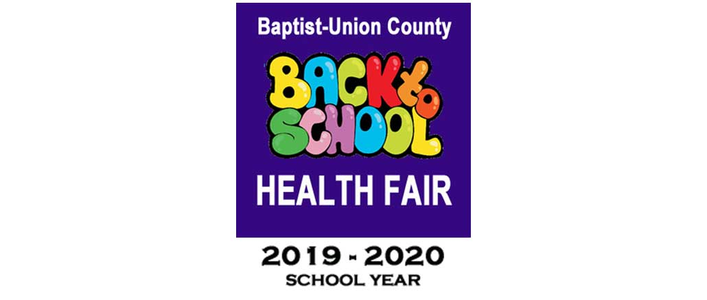 New Albany MS Back to School Health fare