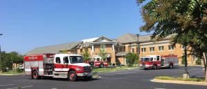 New Albany MS Fire trucks at FBC
