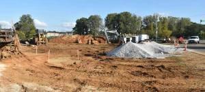 New Albany MS upriver work underway