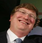 New Albany MS Tate Reeves' vacuous grin
