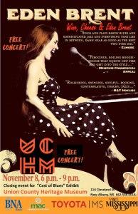 New Albany MS Eden Brent concert poster