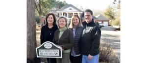 New Albany MS Frohns win beautification award