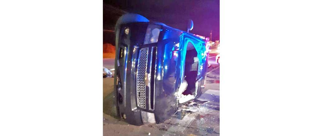 New Albany MS Damaged vehicle in 1-6-2020 MVA