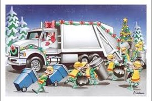 NEMiss.news Christmas garbage truck
