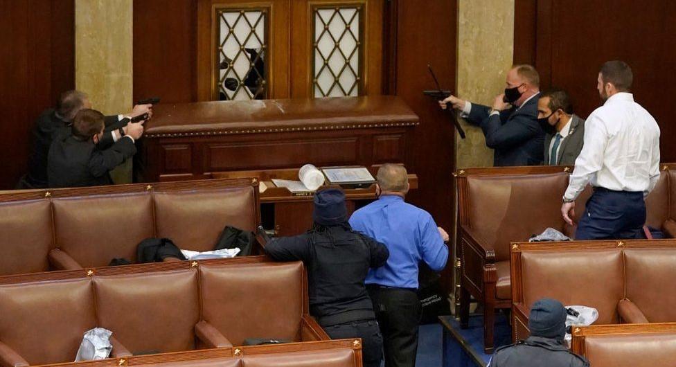 NEMiss.News Capitol police defend the US Capitol Buildint