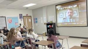 NAMS students talk to Justice Coleman NEMiss.News