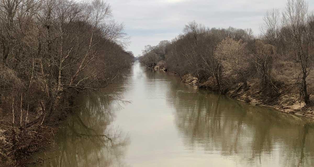 NEMiss.News Tallahatchie River at CR 46