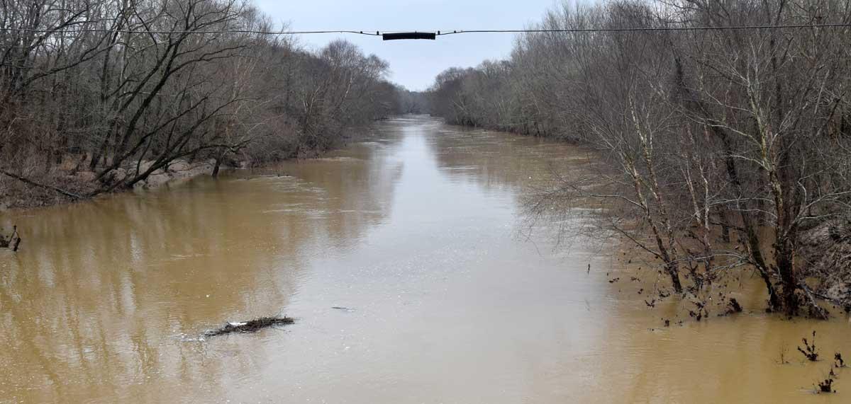 NEMiss.news Tallahatchie River at Co Rd 46
