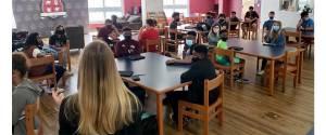 NEMISS.News NAHS STEM and IMPACTO students hear speakers