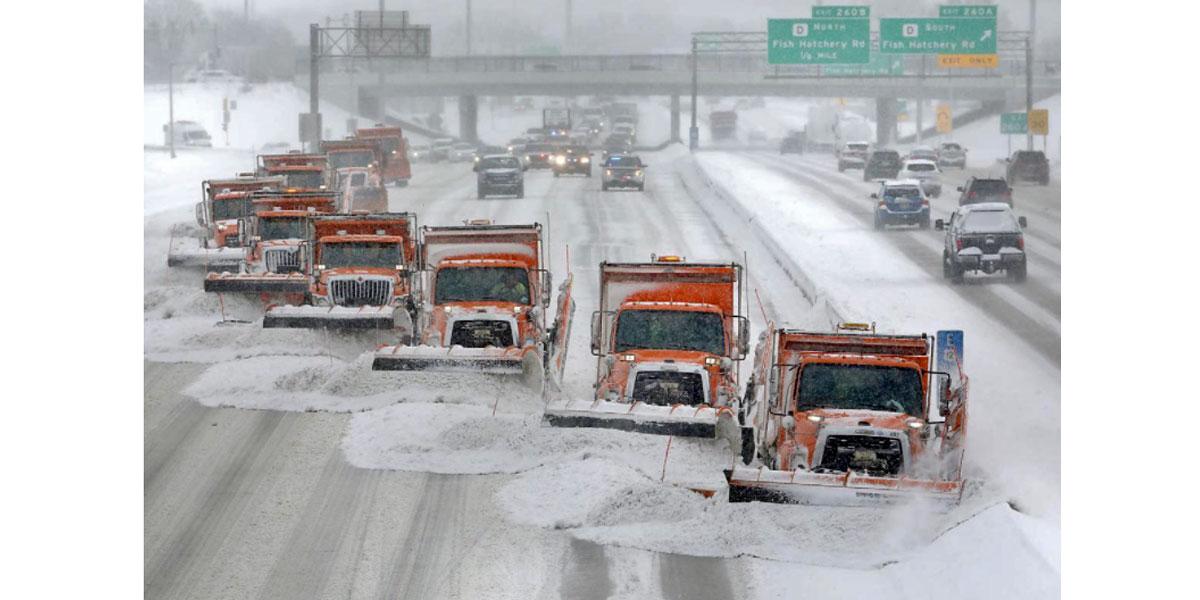 NEMiss.News Snow plows by the dozen