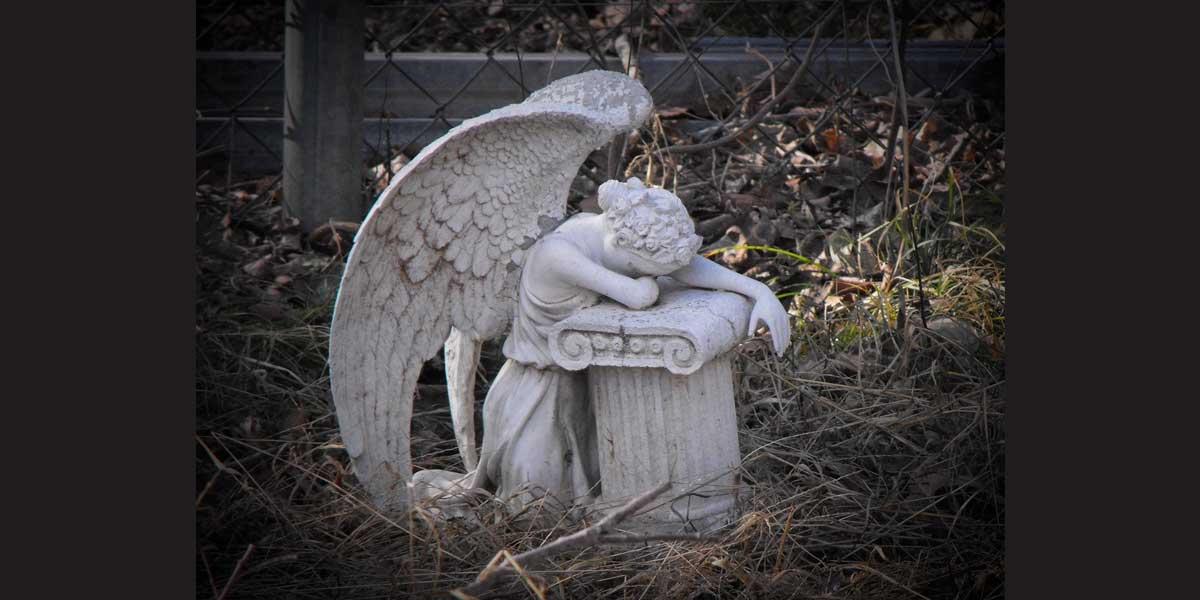 NEMiss.News Weeping angel statue