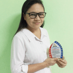 NEMM Admin Secretary Awarded by SPUC