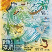 @ride4thecause 26-27 août 2017 #savethedate #r4tc17 #rideon #staywild #surfsup @summitfoundation @waves4dev