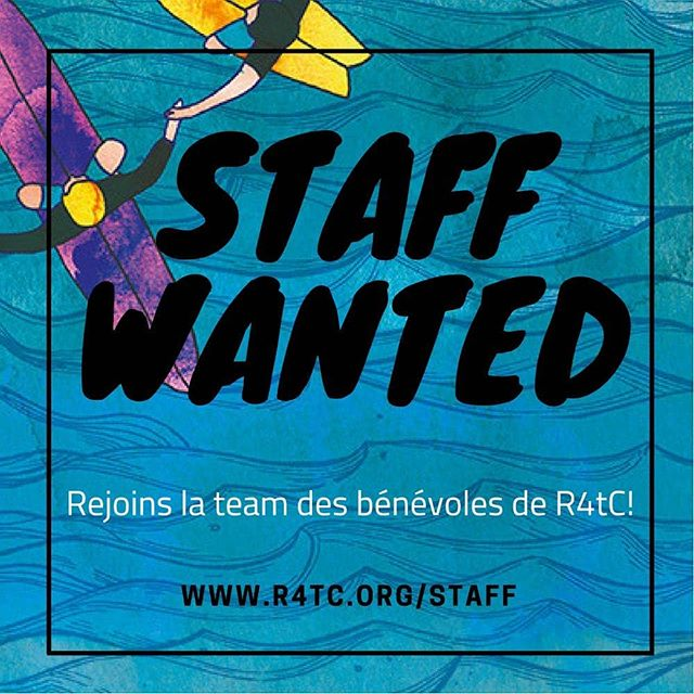 #staffwanted #rideabesoindetoi #rideforthecause #r4tc18 @ride4thecause  @summitfoundation @waves4dev