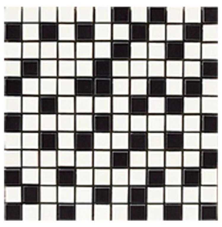 nordic mix black 1x1 mosaic 12x12