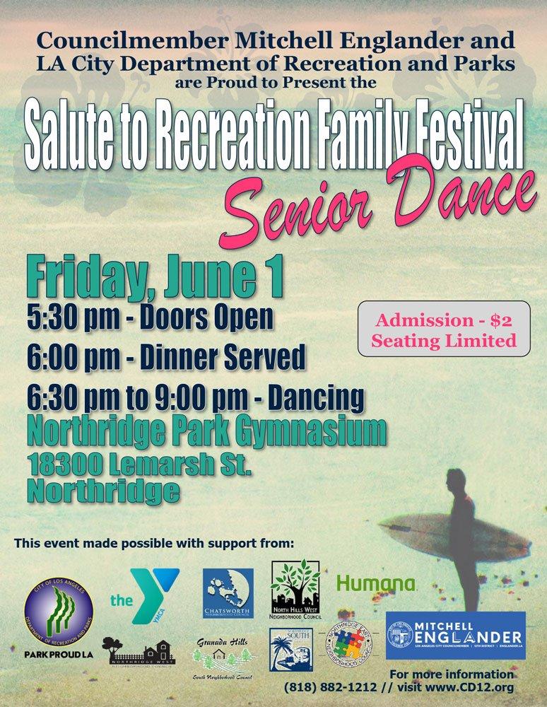 Salute to Recreation Family Festival Senior Dance