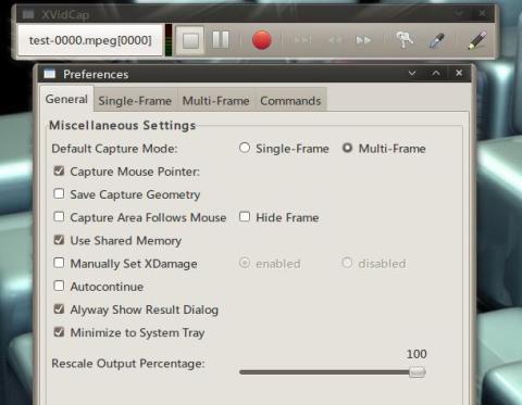 ubuntu 屏幕录制 xvidcap
