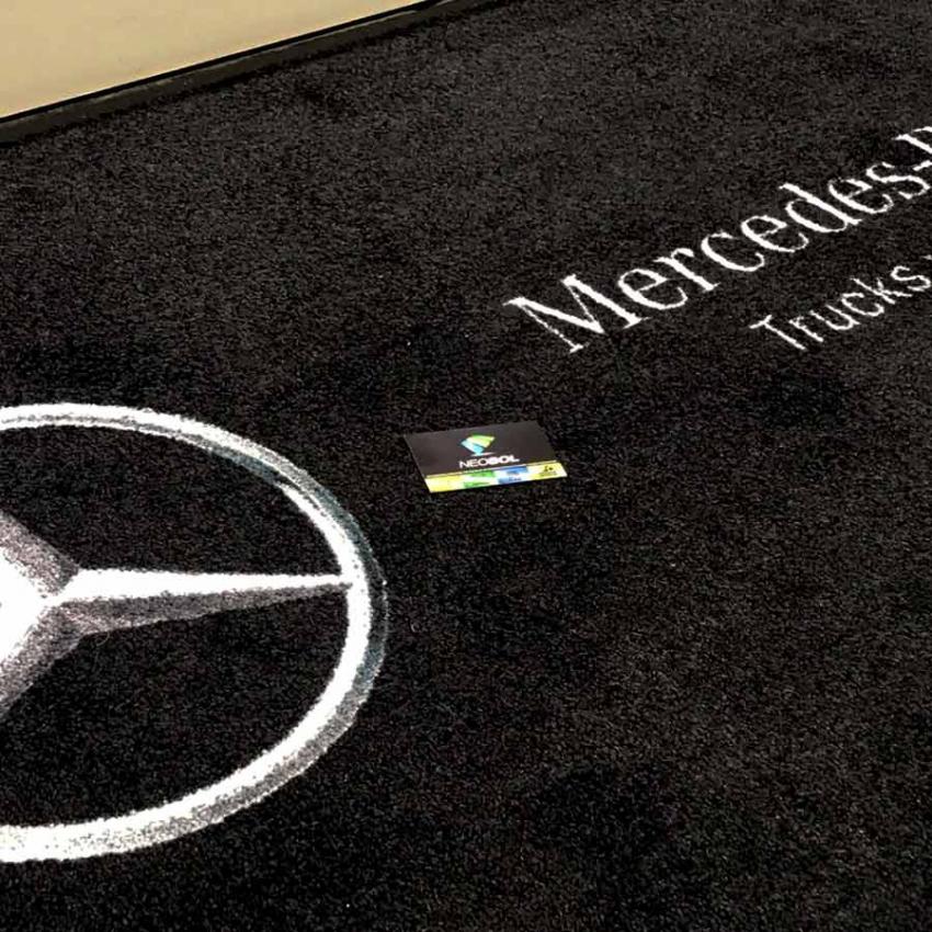 tapis logo personnalise tapis logo entreprises tapis professionnels neosol