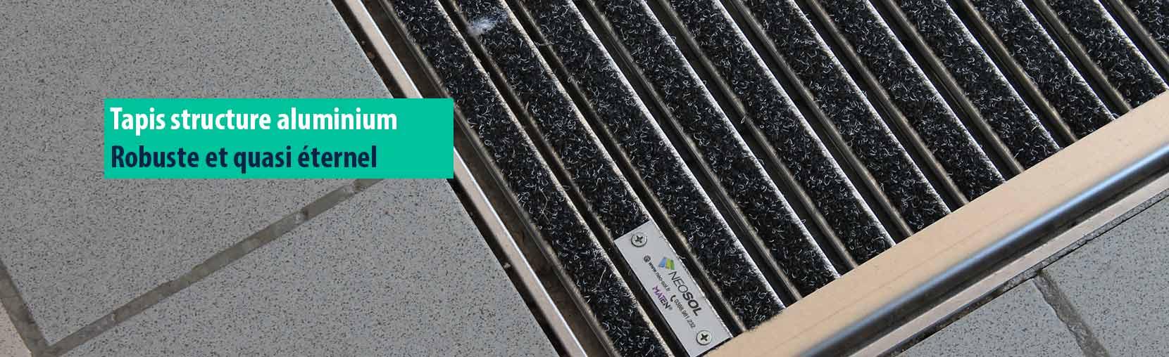 tapis de sol pour tous les secteurs d