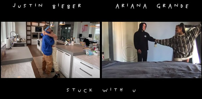 Ariana Grande and Justin Bieber together again