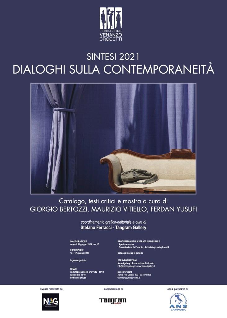 Manifesto SINTESI 2021 Dialoghi sulla ContemporaneitàGiorgio Bertozzi Neoartgallery