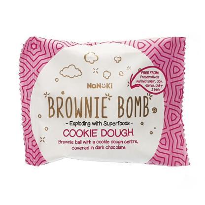 Nanuki Cookie Dough Brownie Bomb