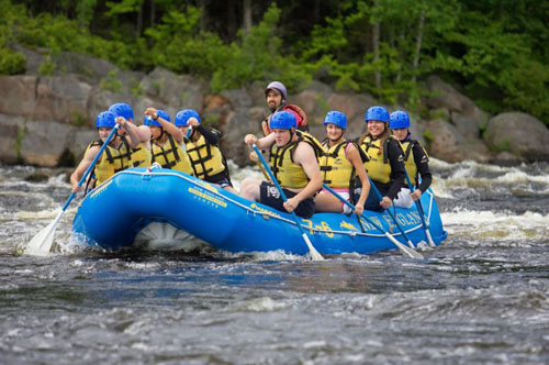 Whitewater rafting, fishing and boating in Maine at NEOC