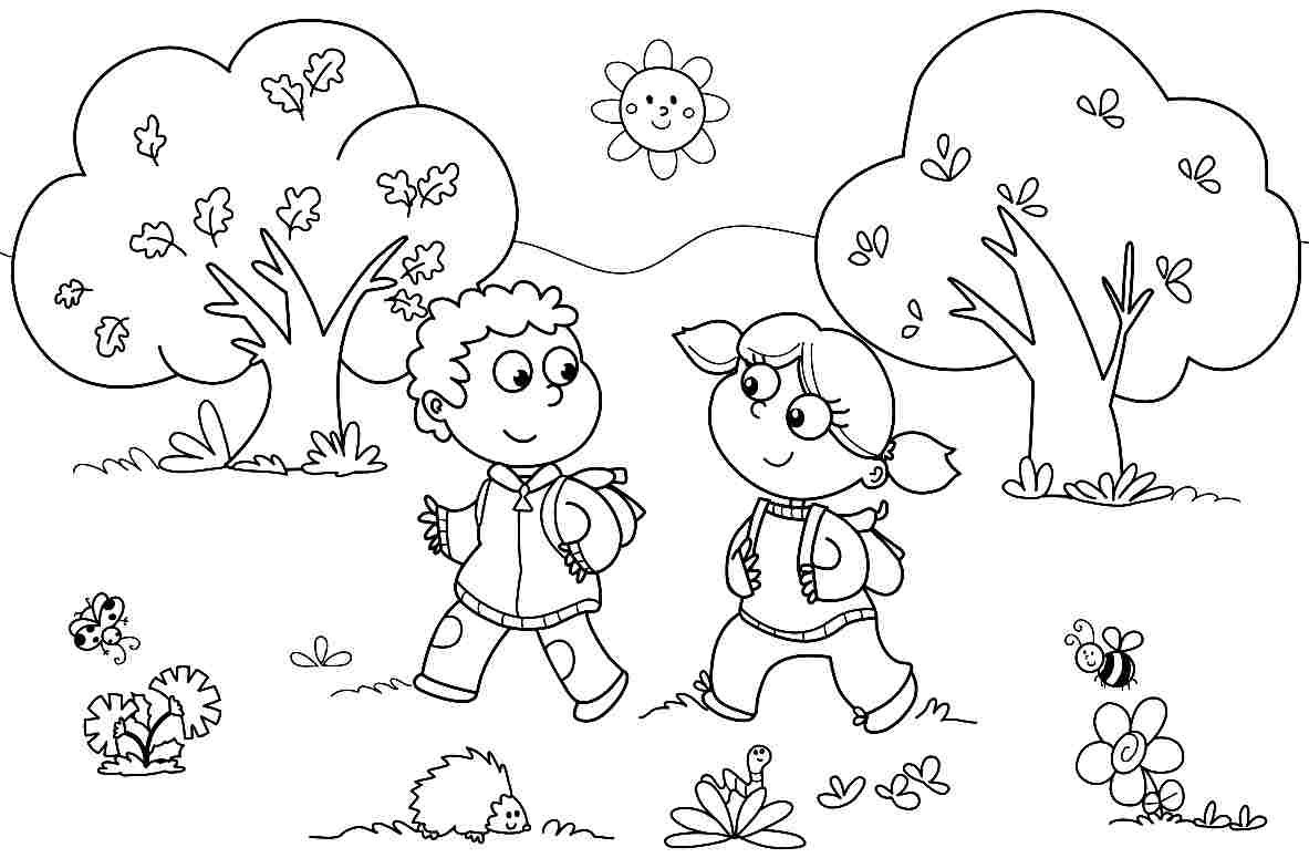 Coloring Sheets For Kindergarten