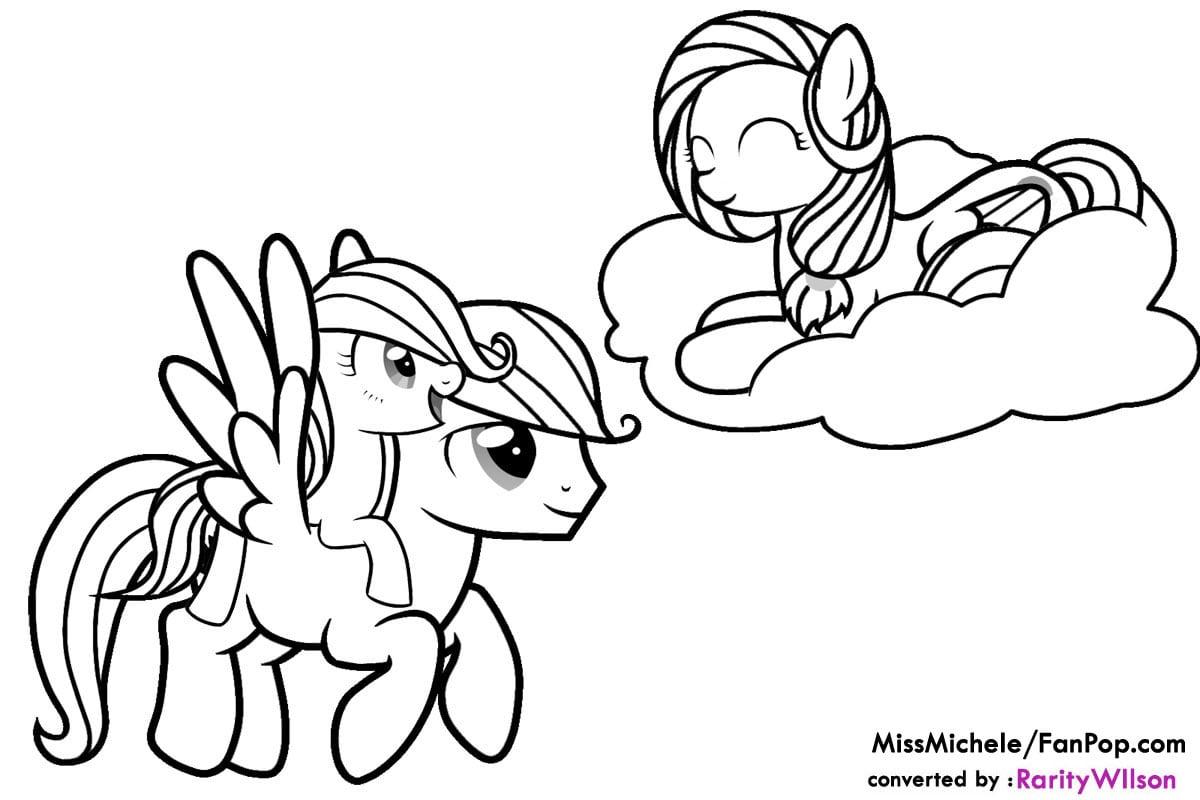My Little Pony Printable Worksheet