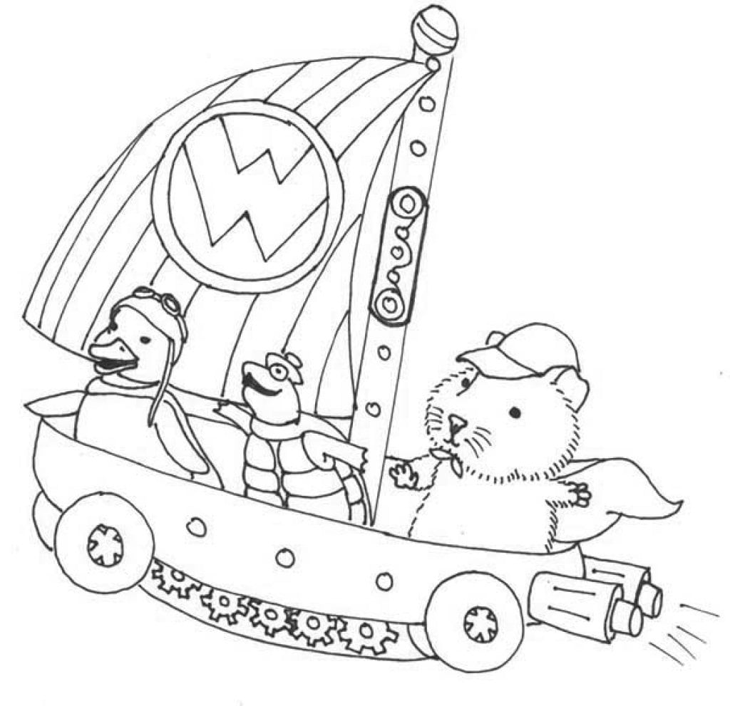 Ming Ming Pages Coloring Pages