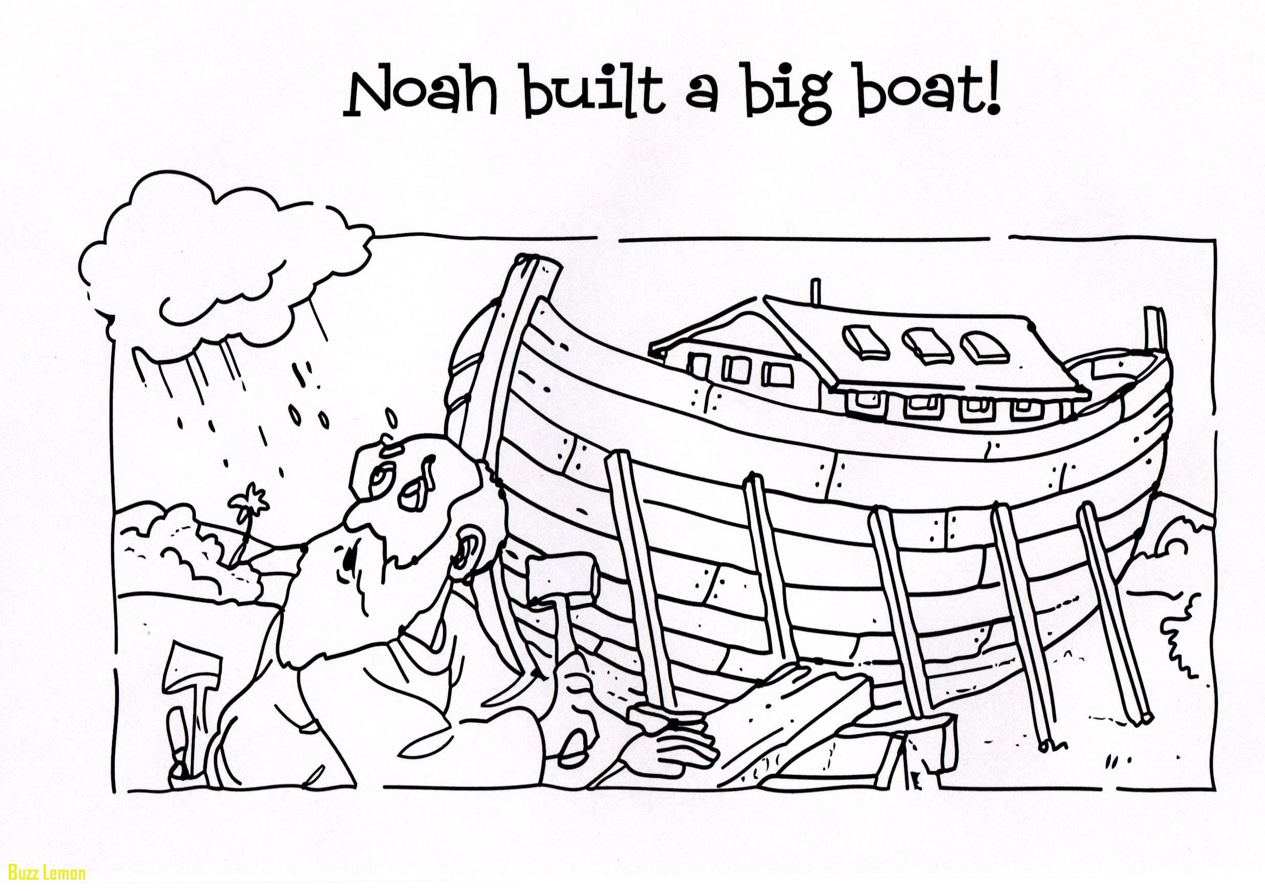 Noah S Ark Coloring Page