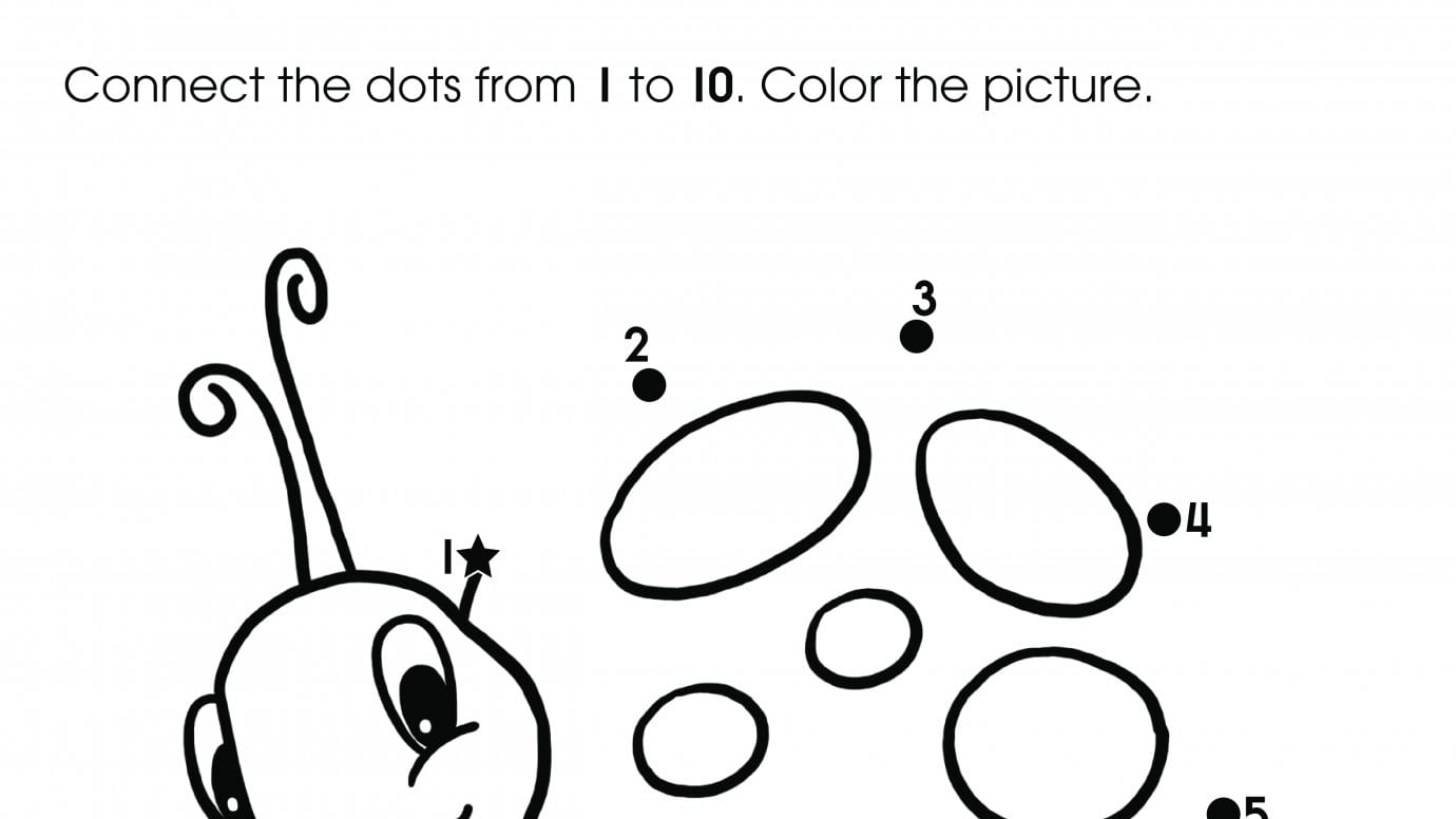 1 5 Dot To Dot Printables
