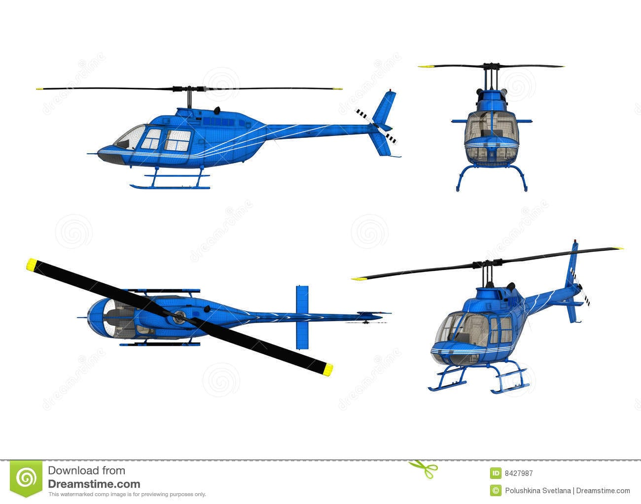 Helicopter Drawing Images